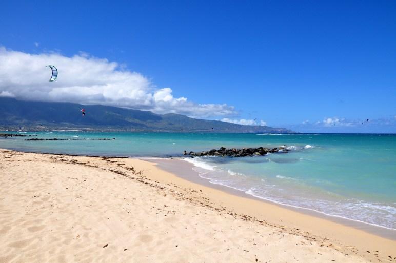 at Kanaha Beach - Maui, Hawaii