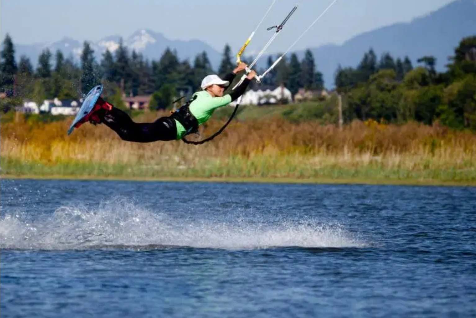 Jerry Island Usa Kite Surf competition