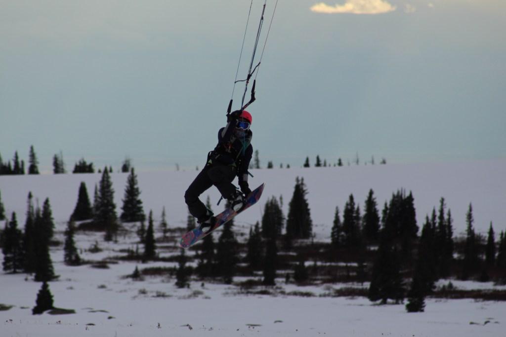 Wyoming Snowkiting